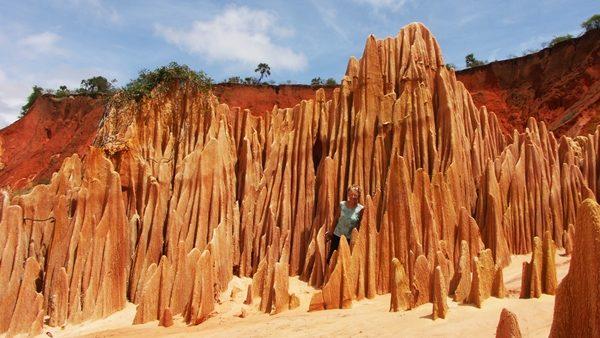 Les Tsingy rouges
