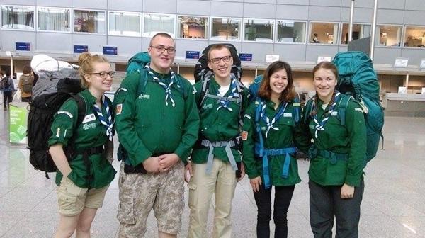 Départ pour Madagascar de cinq scouts Vert l'Avenir