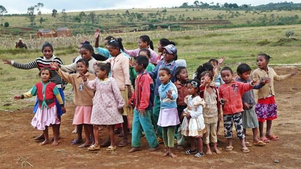 Enfants de Kélilalina en 2016