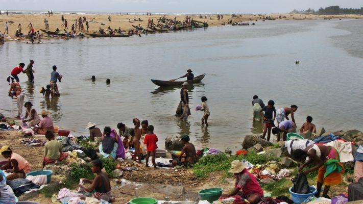 Mananjary , le fleuve