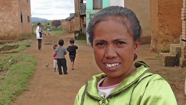Couturière à Sahamadio