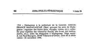 Journal officiel 1994